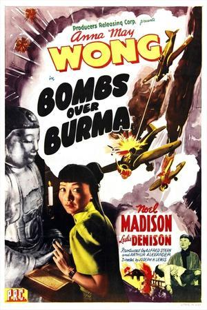 Bombs Over Burma, Anna May Wong, 1943--Art Print