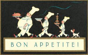 Bon Apetite, Chef Procession