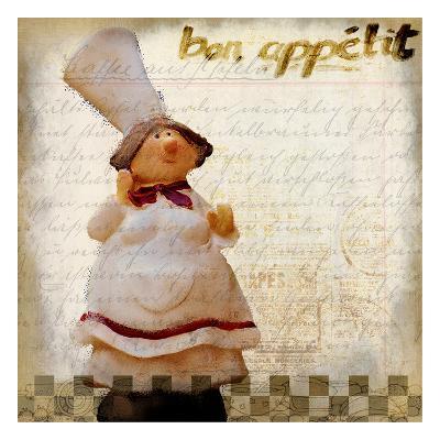 Bon Appetit 1-Kimberly Allen-Art Print
