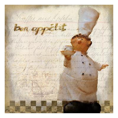 Bon Appetit 2-Kimberly Allen-Art Print
