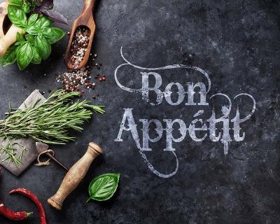 Bon Appetit Herbs and Spices-Color Me Happy-Art Print