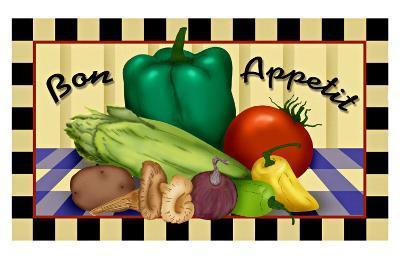 Bon Appetit--Giclee Print