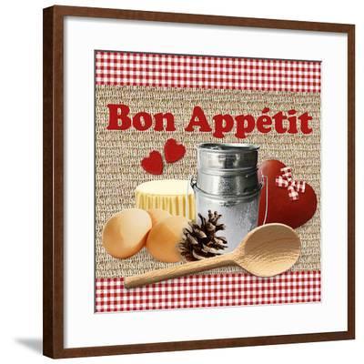 Bon Appétit-Galith Sultan-Framed Art Print