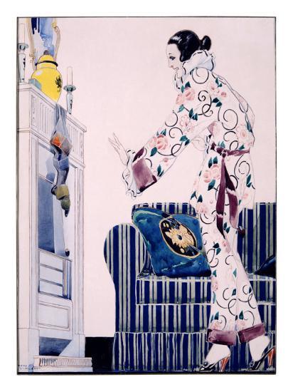 Bon Marche Maquette-Ren? Vincent-Giclee Print