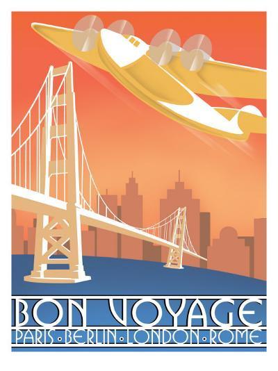 Bon Voyage--Giclee Print