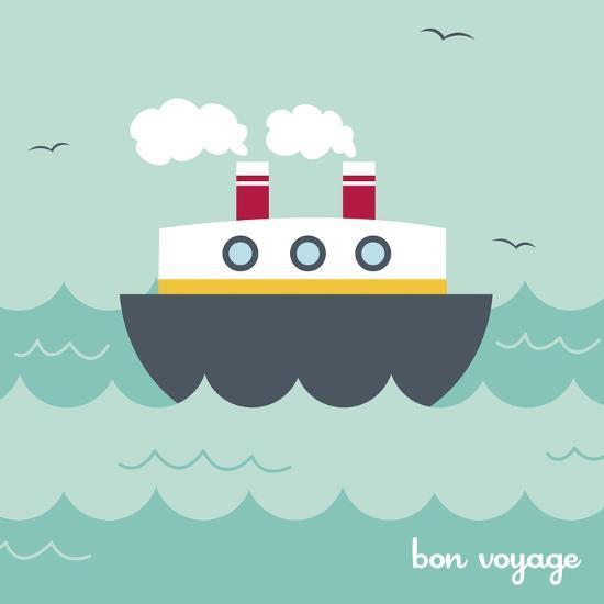 Bon Voyage-Holli Conger-Giclee Print