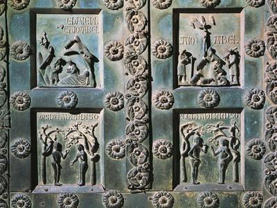 Detail of Bronze Gate, 1185-1186