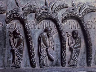 Prophets in Paradise of Palms, Bronze Panels from St Ranieri's Door