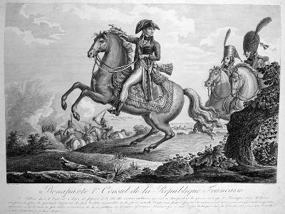 Bonaparte 1st Consul of the French Republic, 19th Century--Giclee Print