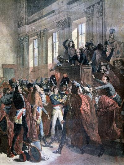 Bonaparte and the Council of Five Hundred at St Cloud, 10th November 1799-François Bouchot-Giclee Print