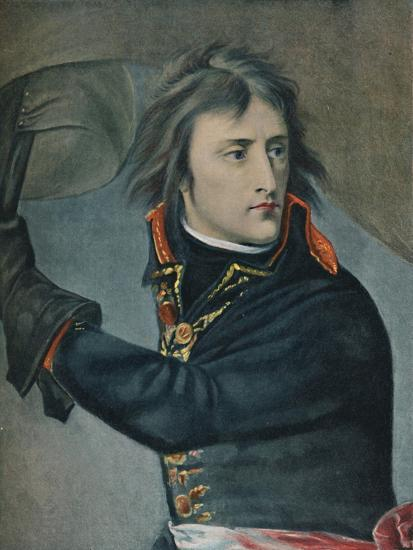 'Bonaparte at Arcole', 1797, (1896)-Unknown-Giclee Print