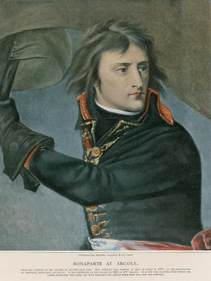 Bonaparte at Arcole-Baron Antoine Jean Gros-Giclee Print