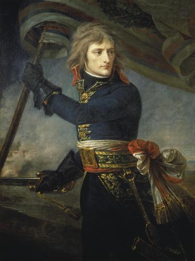Bonaparte at the Bridge of Arcole, 17, November 1796-Antoine Jean Gros-Giclee Print