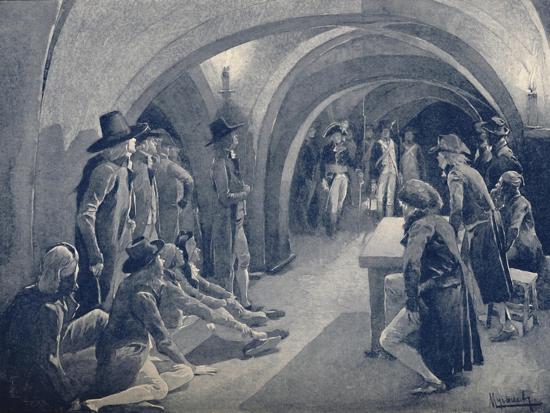 'Bonaparte Closing The Panthéon Club', 1796, (1896)-Unknown-Giclee Print