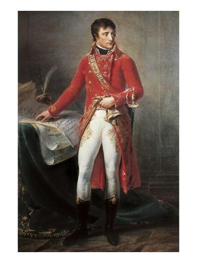 Bonaparte, First Consul-Antoine-Jean Gros-Art Print