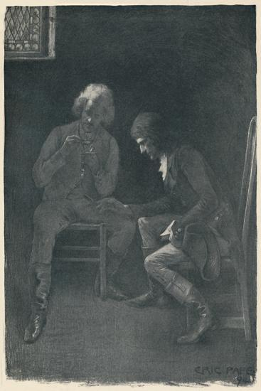 'Bonaparte Pawning His Watch', 1792, (1896)-Unknown-Giclee Print