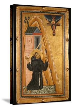 St. Francis Receives the Stigmata, Mid-13th Century (Tempera on Wood)