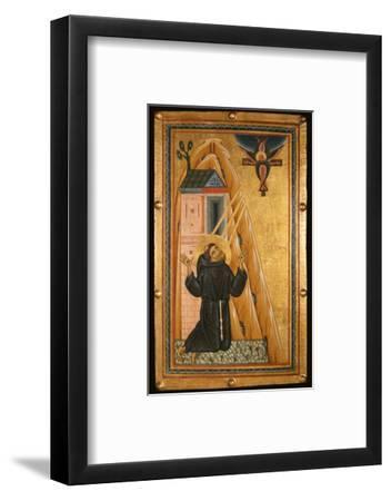 St. Francis Receives the Stigmata, Mid-13th Century (Tempera on Wood)