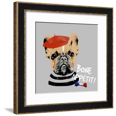 Bone Appetit--Framed Premium Giclee Print