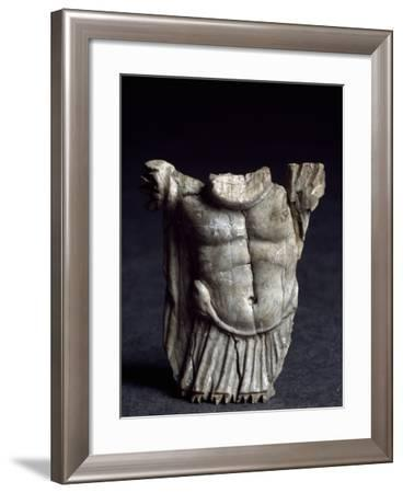 Bone Figure from the Necropolis of San Rocco, Aosta, Italy BC--Framed Giclee Print