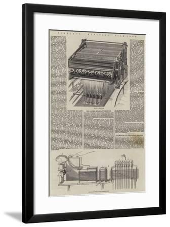 Bonelli's Electric Silk-Loom--Framed Giclee Print