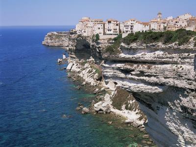 Bonifacio, Corsica, France, Mediterranean-Gavin Hellier-Photographic Print