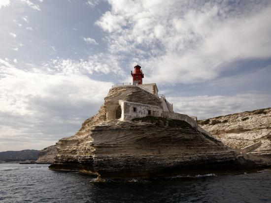Bonifacio Lighthouse-Manfred Hofer-Photographic Print