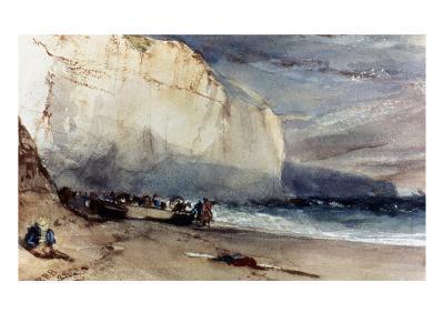 Bonington: Cliff, 1828-Richard Parkes Bonington-Giclee Print