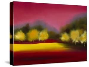 Raspberry Contemplation by Bonita Williams Goldberg