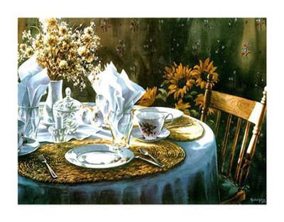 Bonjour-Rachel Labbe-Art Print