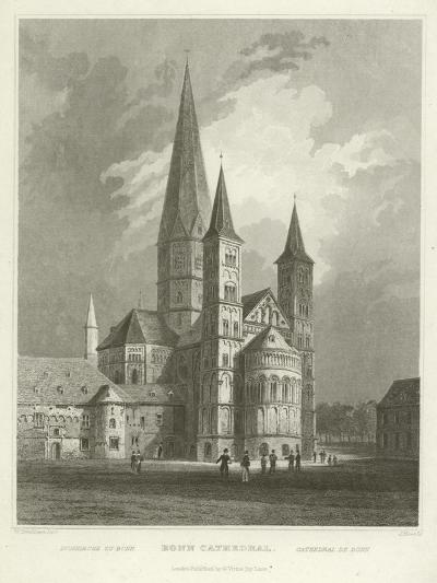 Bonn Cathedral-William Tombleson-Giclee Print