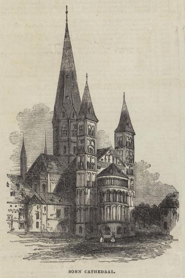 Bonn Cathedral--Giclee Print