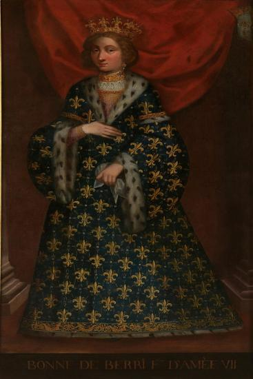 Bonne of Berry (1365-143), Countess of Savoy--Giclee Print