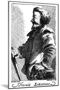 Francis Lolonois, 17th Century Pirate, 1741 by Bonneau