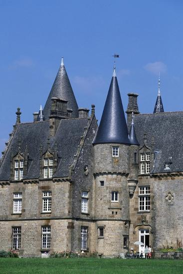 Bonnefontaine Castle, Antrain, Brittany, France--Giclee Print