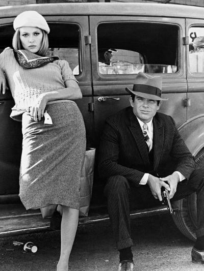 Bonnie and Clyde, 1967--Photographic Print