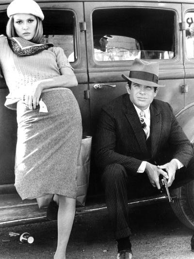 Bonnie and Clyde, Faye Dunaway, Warren Beatty, 1967--Photo
