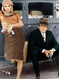 Bonnie and Clyde, Faye Dunaway, Warren Beatty, 1967
