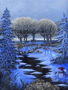 Snowman by Bonnie B. Cook