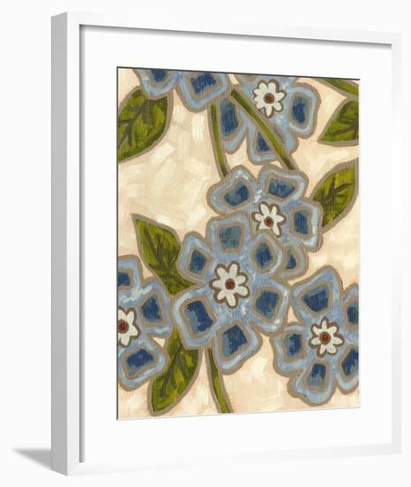 Bonnie Fleur I-Karen Deans-Framed Art Print
