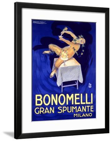 Bonomelli Gran Spumante-Achille Luciano Mauzan-Framed Giclee Print