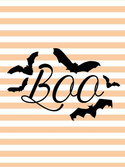 Boo With Bats-Jetty Printables-Art Print
