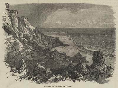 Boobjerg, on the Coast of Jutland--Giclee Print