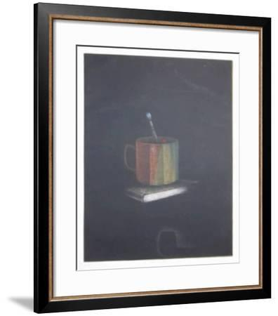 Book and Cup-Tomoe Yokoi-Framed Collectable Print