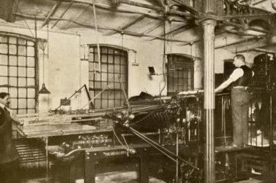 Book and Magazine Printing Press at Harper and Bros., New York City