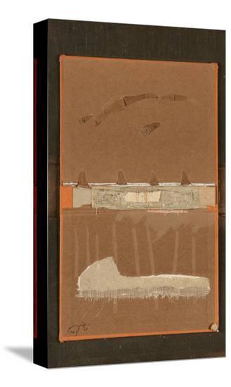 Book Cover 21-Qasim Sabti-Stretched Canvas Print