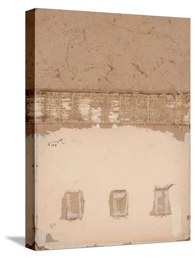 Book Cover 50-Qasim Sabti-Stretched Canvas Print