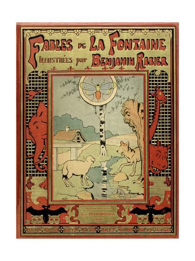 Book Cover of La Fontaine's Fables-Benjamin Rabier-Giclee Print