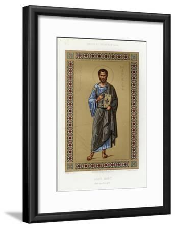 Book Illustration of Saint Mark