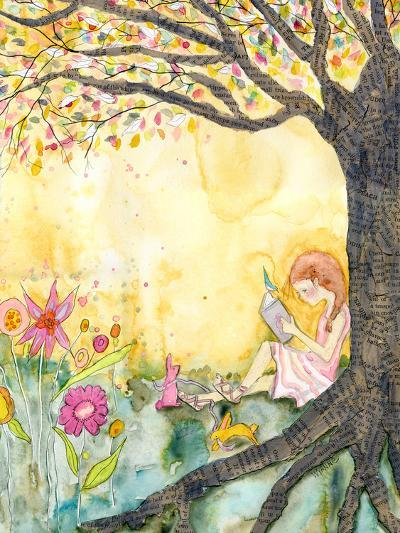 Book Nook-Wyanne-Giclee Print